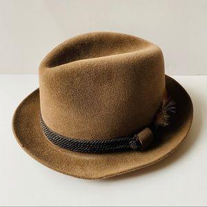 Vintage Dobbs Fifth Avenue Wool Fedora